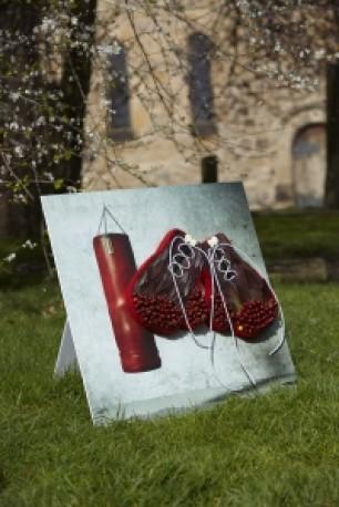 Boxing Glove Set Shared Memory Tribute