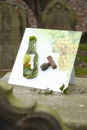 Wine Bottle Shared Memory Tribute