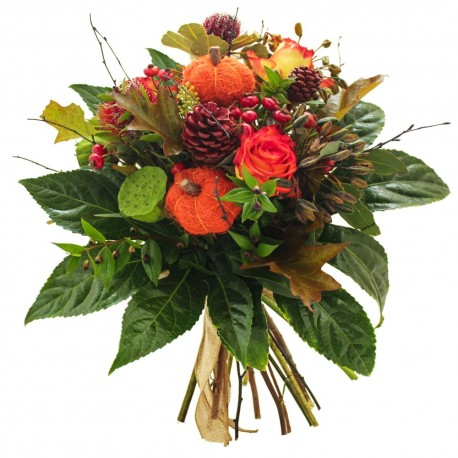 Orange & Red Bouquet