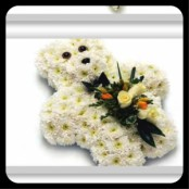 Floral Teddy Bear